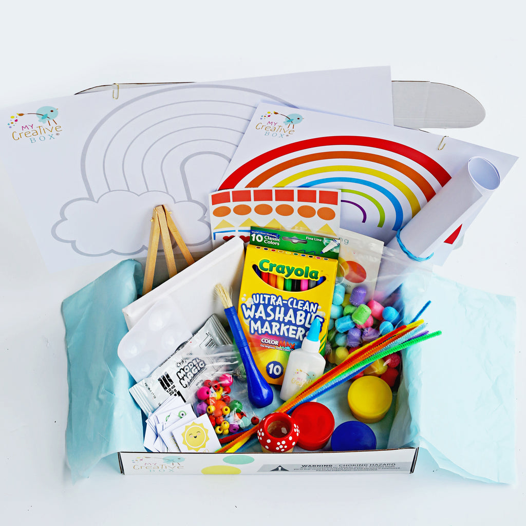 Little Learners Rainbow Creative Box - My Creative Box
