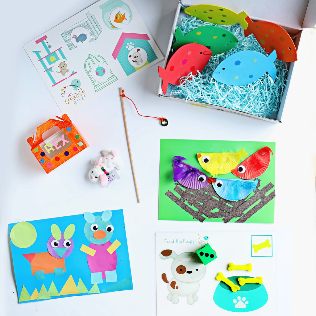 Little Learners Pets Creative Box - My Creative Box