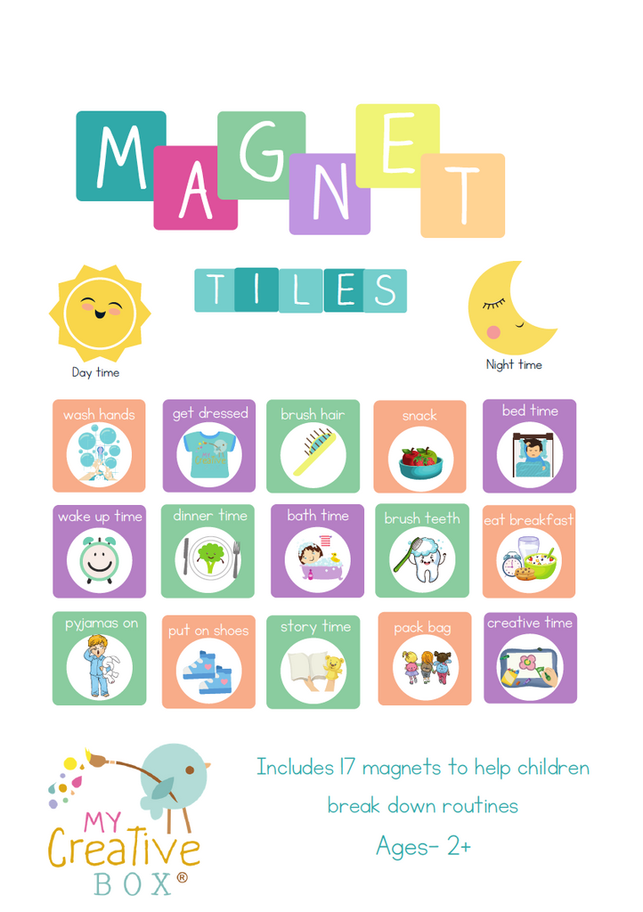 Routine Magnet Tiles - My Creative Box
