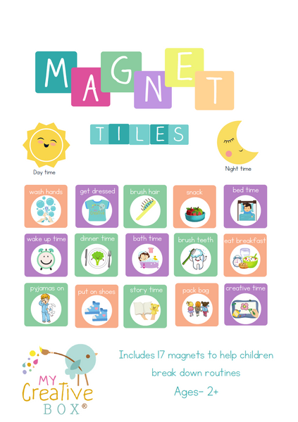 Routine Magnet Tiles