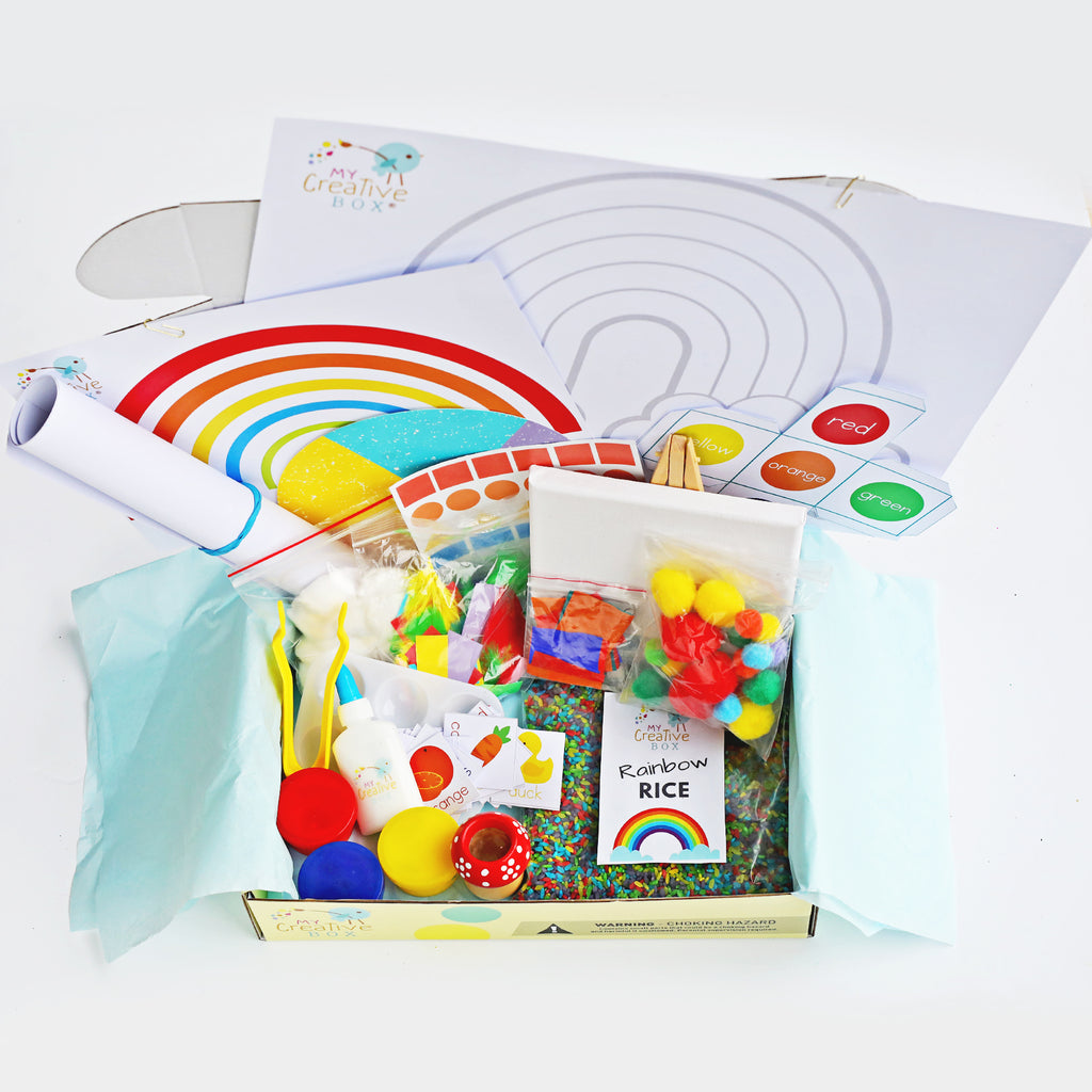 Mini Explorers Rainbow Creative Box - My Creative Box