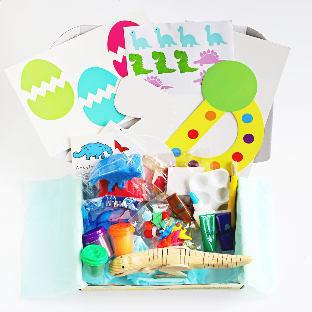 Toddler Dinosaur Creative Box - My Creative Box
