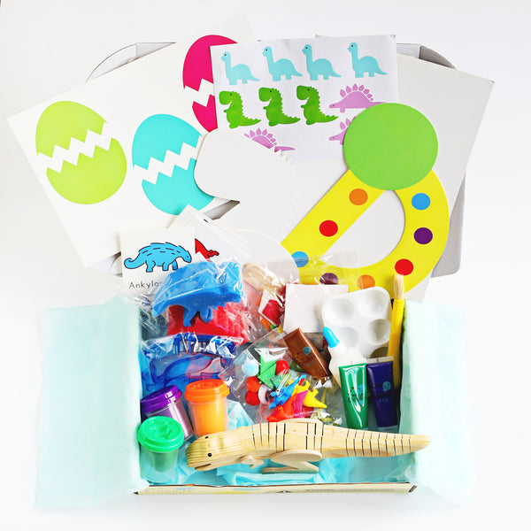 Toddler Dinosaur Creative Box