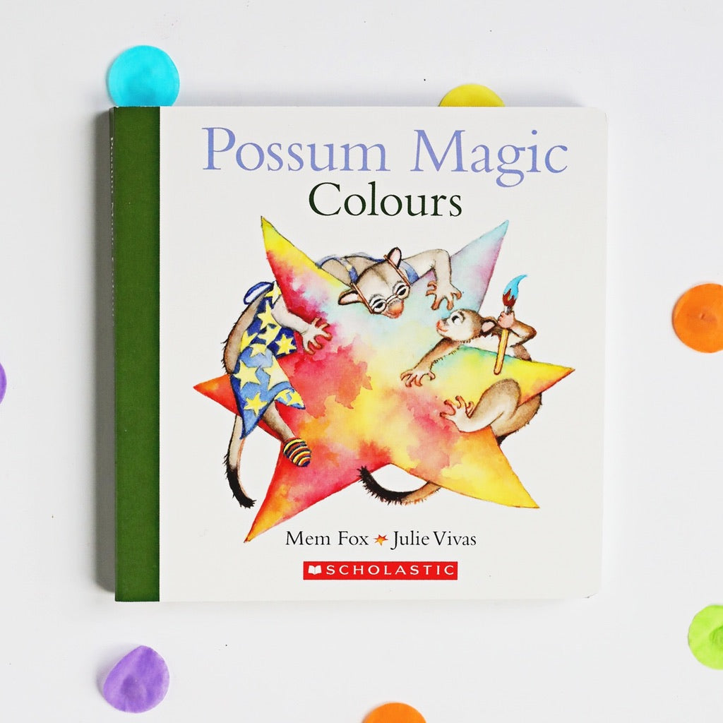 Possum Magic Colours Book by Mem Fox - My Creative Box