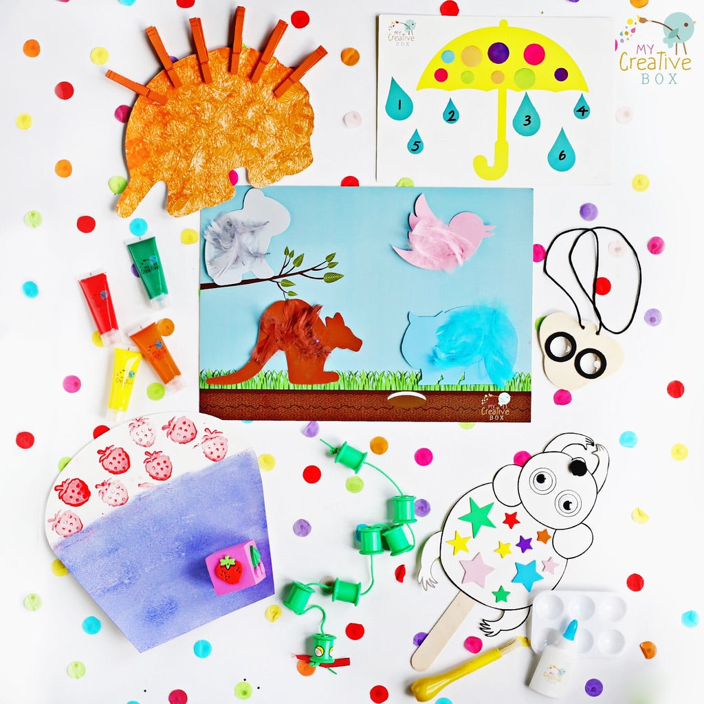 Mini Explorers | Storytellers 3 Box Bundle - My Creative Box