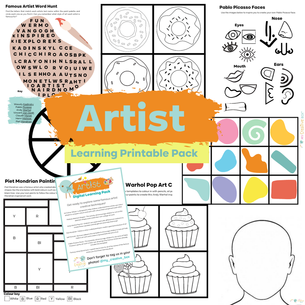 Artist Digital Learning Pack
