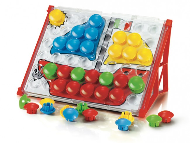 Quercetti Fantacolour Junior Basic | 48 Pieces - My Creative Box