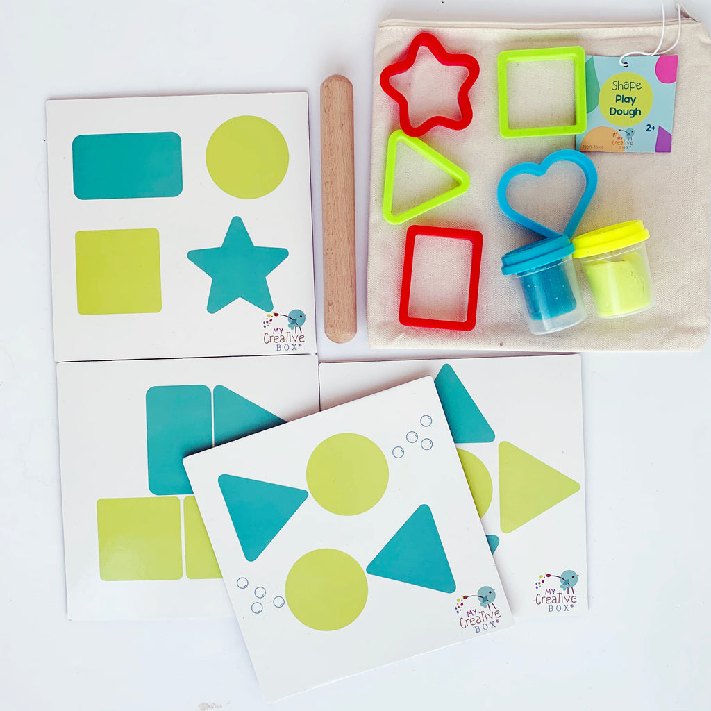 Mini Explorers Shapes Creative Box