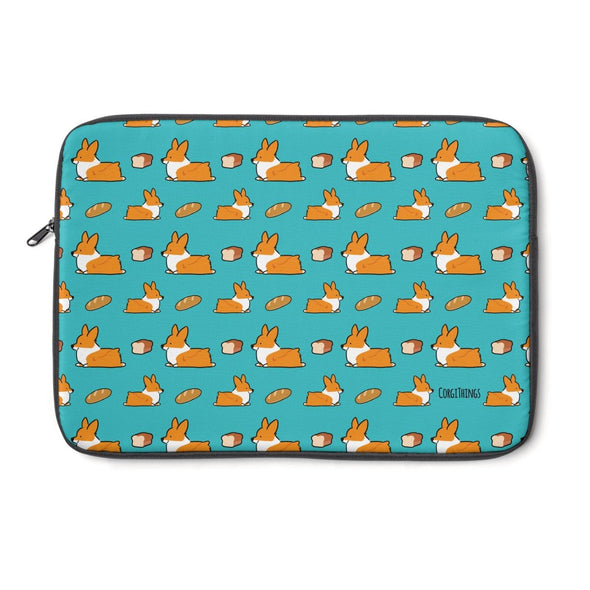 Corgi Loaf Sploot Laptop Sleeve | 3 Sizes