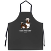 """Kiss the Chef"" Corgi Apron 