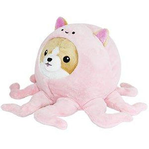 Squishable Undercover Corgi in Octopus - 7""