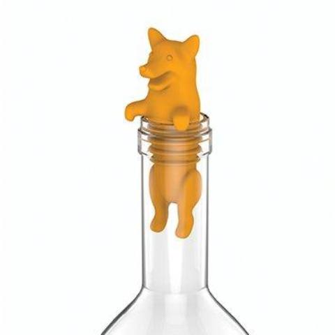 Corki Wine and Beverage Bottle Stopper and Preserver by TrueZoo