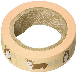 Welsh Corgi Washi Tape