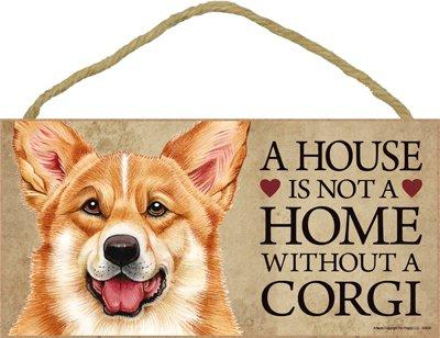 Corgi Door Sign