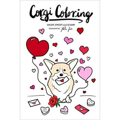 Corgi Coloring: Short, Sweet and Scamp