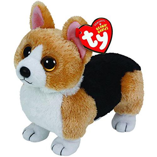 Ty Beanie Babies Otis - Corgi Brown Dog