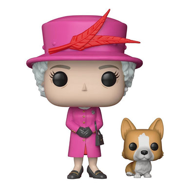 Funko Pop: Royal Family-Queen Elizabeth II Collectible Figure