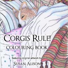 Corgis Rule! Coloring Book