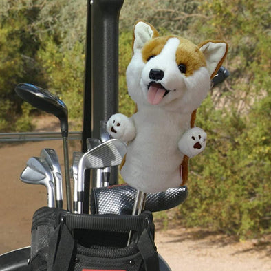 Corgi Golf Club Headcover