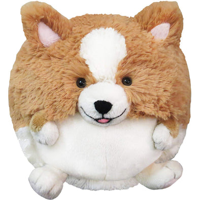 Squishable Corgi Plush, Tan and White, Mini 7""