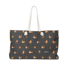 """Cool Corgis"" Oversized Tote Bag"