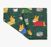 """Cozy Corgis"" Fleece Blanket 