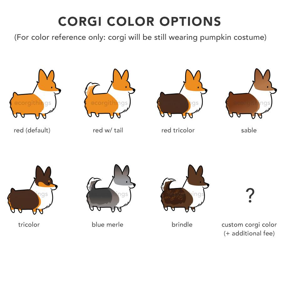 "corgi howloween pumpkin"" garden flag 