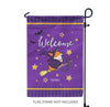 """Bewitched Corgi"" Garden Flag 