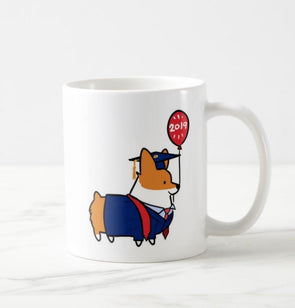 2019 Corgratulations Graduation Corgi Mug | 11oz or 15oz