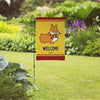 "NEW! ""Wizard"" Corgi Garden Flag 