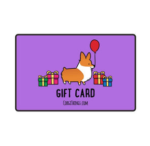 Corgi Things Gift Card