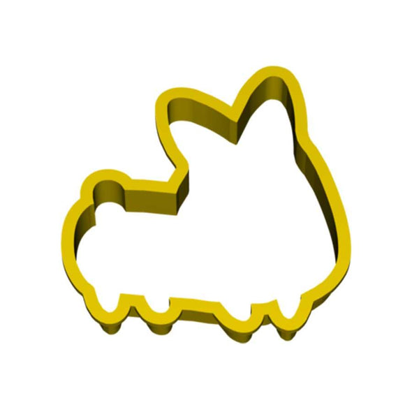Corgi Cookie Cutter (Front-Facing)
