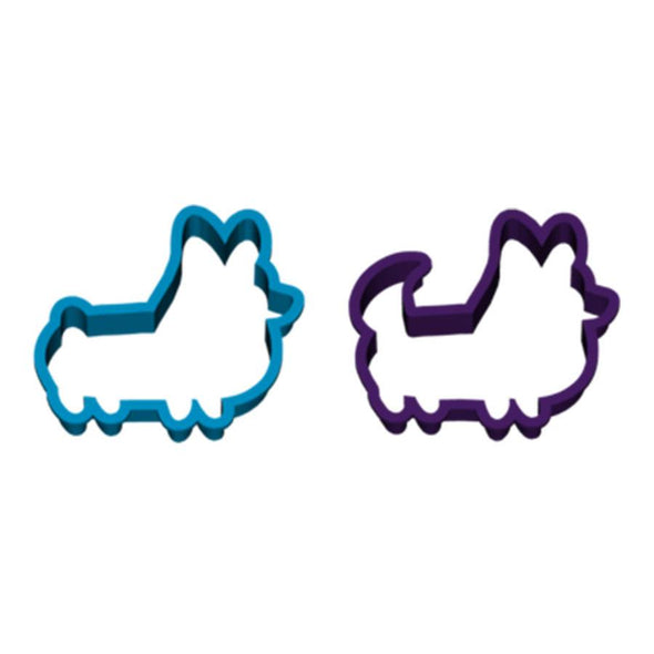 Set of 2 | Corgi Cookie Cutters (Classic and With Tail)