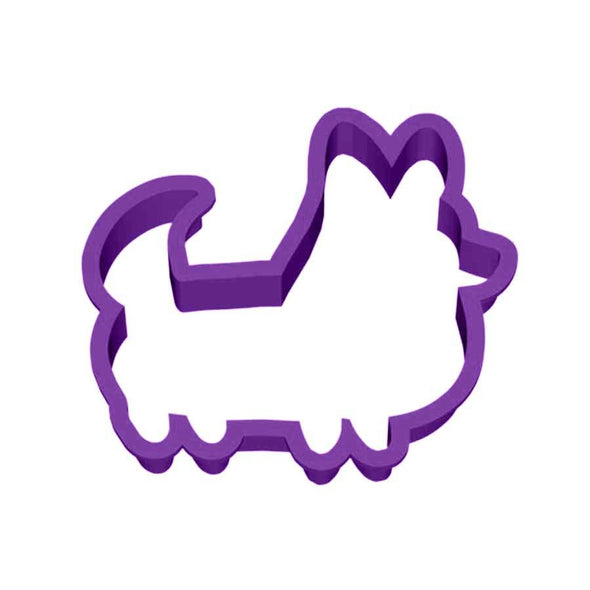 Corgi Cookie Cutter (With Tail)