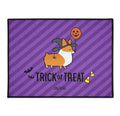 "NEW! ""Witchy Corgi"" Trick-or-Treat Floor Mat 
