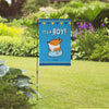 "NEW! ""It's A Boy"" Corgi Garden Flag"