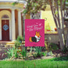 "NEW! ""Woof You Be Mine"" Corgi Garden Flag"