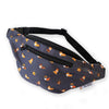 """Cool Corgis"" Gray Fanny Pack"