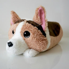 Hazelnut the Tricolor Corgi Memory Plush