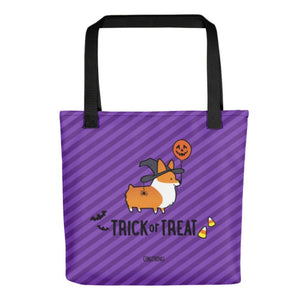 """Witchy Corgi"" Tote Bag 