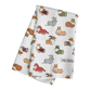"""NEW! """"Corgis in Costumes"""" Waffle Weave Kitchen Towel"""