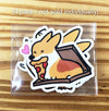 Corgi Foodies Vinyl Sticker Pack (Pack of 4)