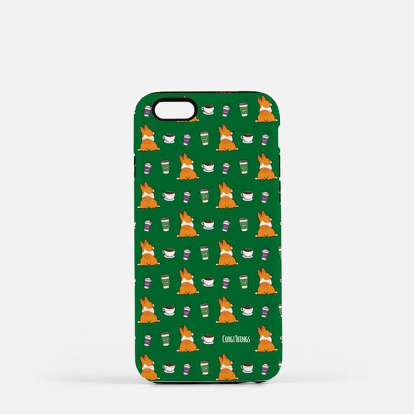 Coffees & Corgis Phone Case