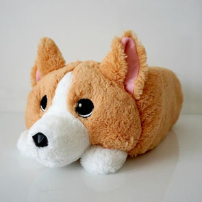 Waffles the Corgi Memory Plush