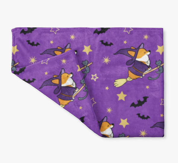 "NEW! ""Bewitched"" Fleece Blanket 