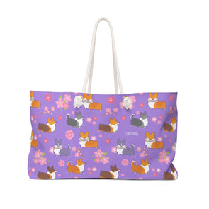 "NEW! ""Cherry Blossom"" Oversized Tote Bag 