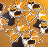 Corgi Magnet Set #1 (Pack of 3)