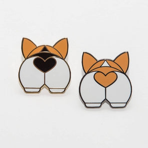 Corgi Butt Pin by TheCorgiCollective