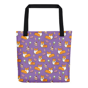 Sweet Treats Corgi Tote Bag