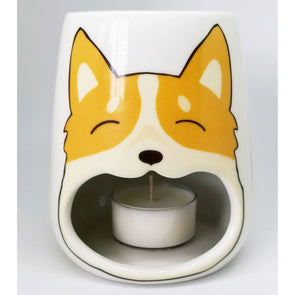 Wax Tea Light Warmer Corgi